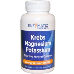 Krebs Magnesium-Potassium Chelates120 vegetarian tablets